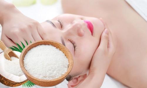 Tẩy tế bào chết toàn thân hiệu quả với bột Cơm dừa tự nhiên Flour Coconuts Scrubs